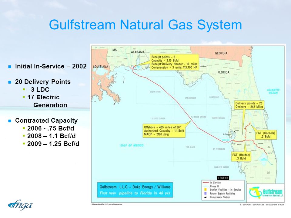 Gulfstream Natural Gas System