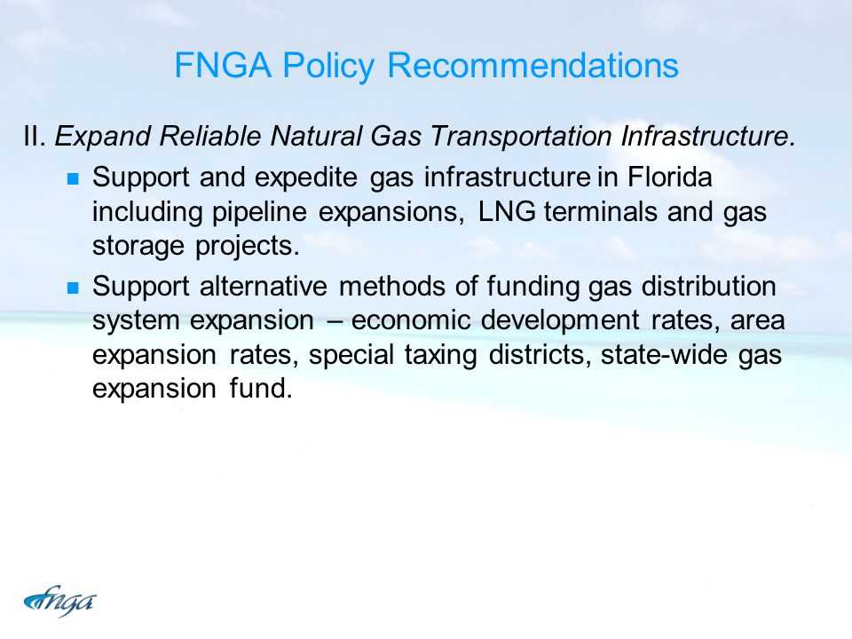 FNGA Policy Recommendations