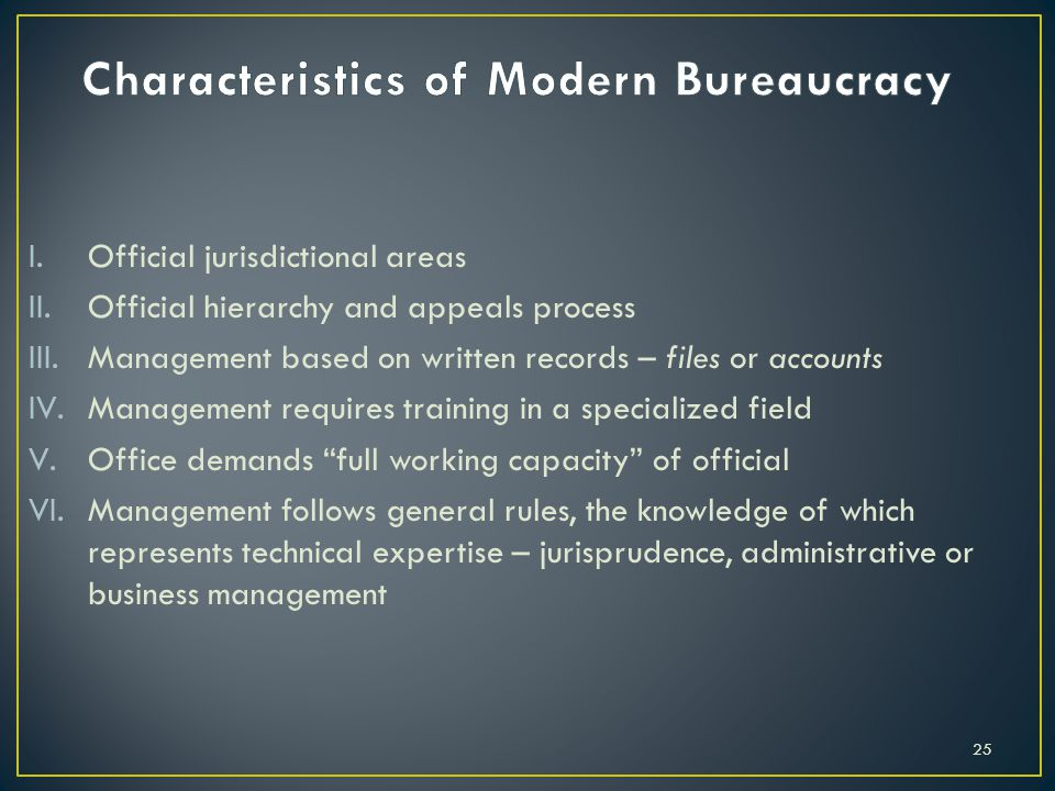 Foundations of sociological theory ppt download for 6 characteristics of bureaucracy