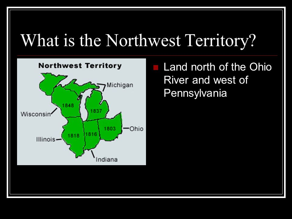What is the Northwest Territory