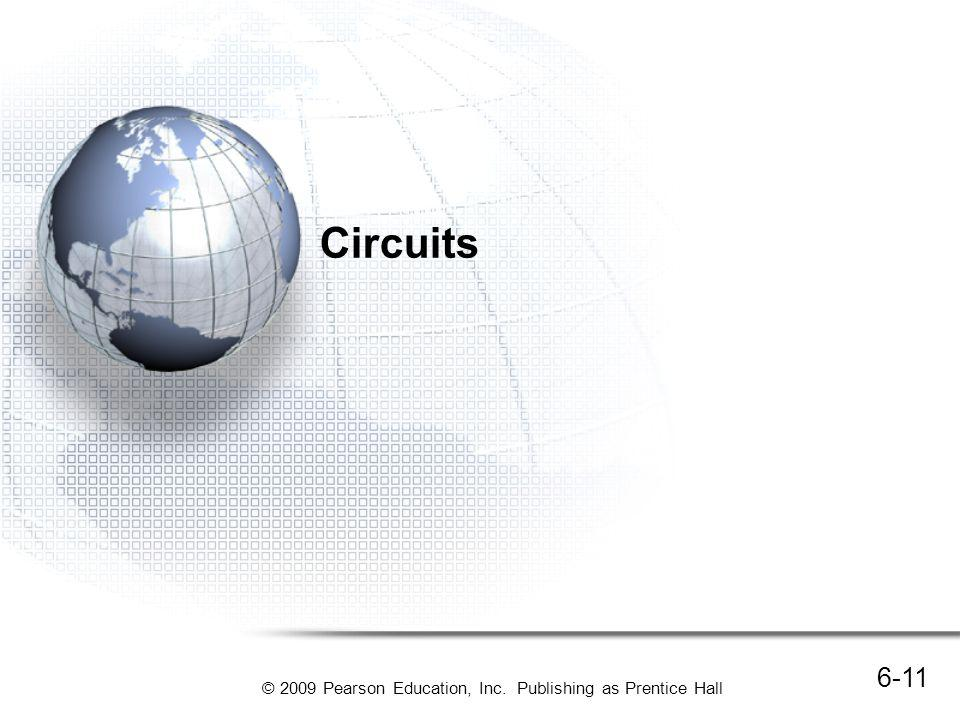 Circuits Data networks use packet switching to deliver messages.