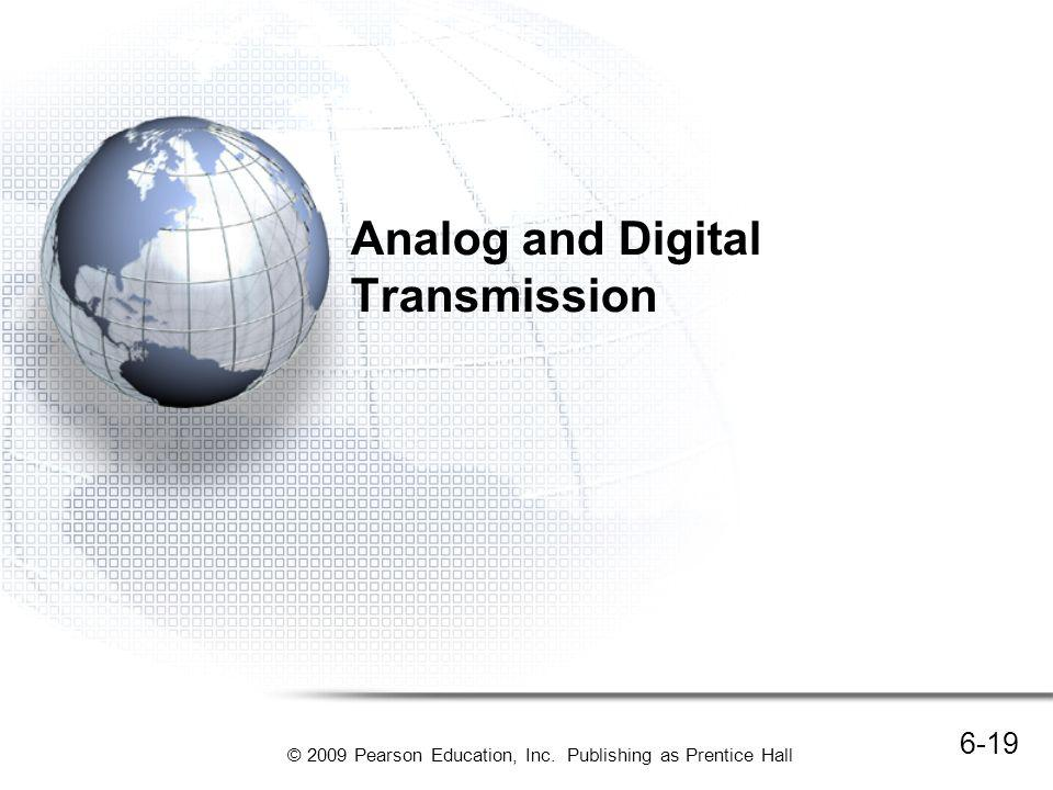 Analog and Digital Transmission