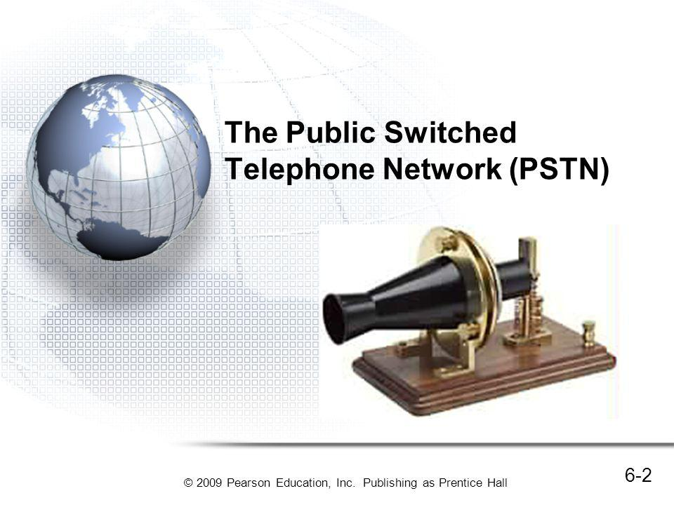 The Public Switched Telephone Network (PSTN)