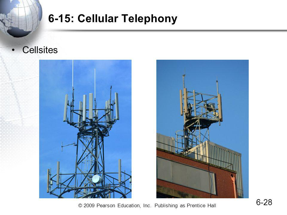 6-15: Cellular Telephony Cellsites