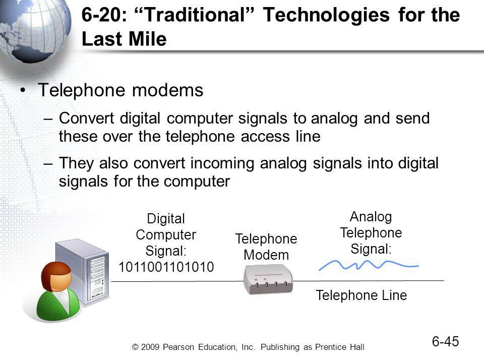 6-20: Traditional Technologies for the Last Mile