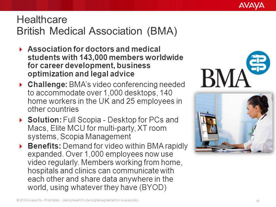 Healthcare British Medical Association (BMA)