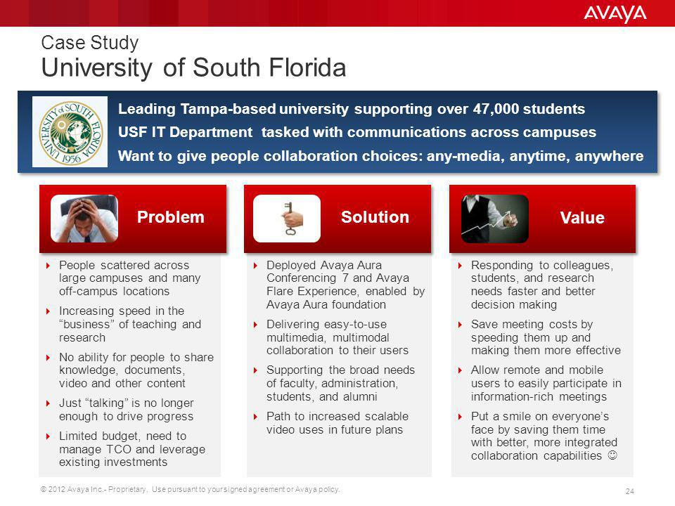 Case Study University of South Florida