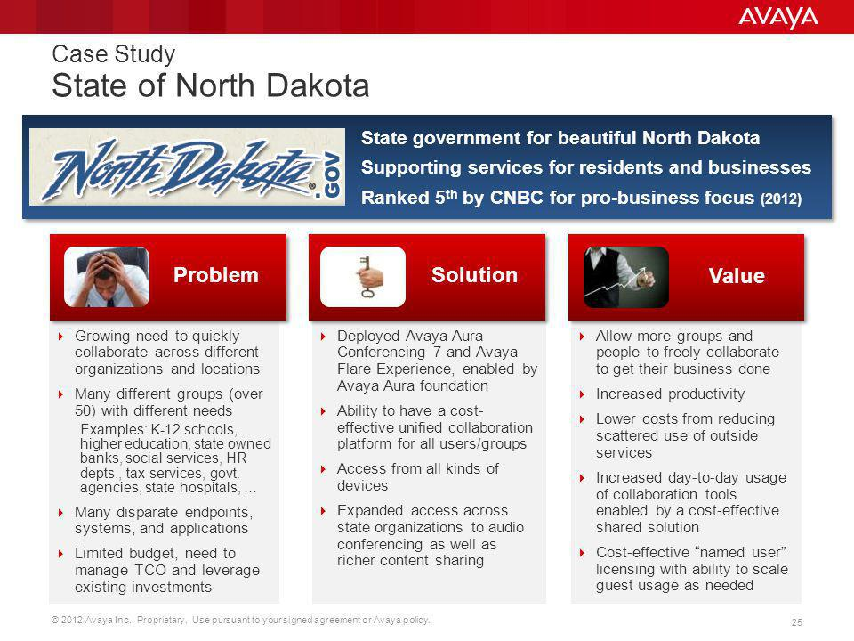 Case Study State of North Dakota