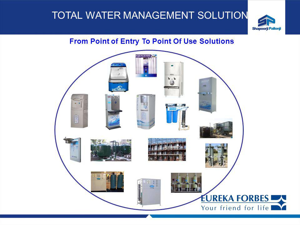 From Point of Entry To Point Of Use Solutions