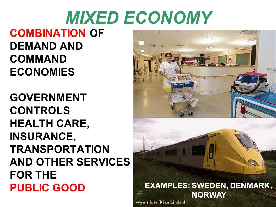 EXAMPLES: SWEDEN, DENMARK,