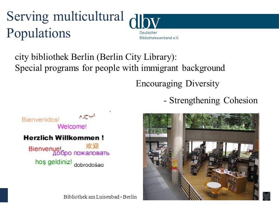 Serving multicultural Populations