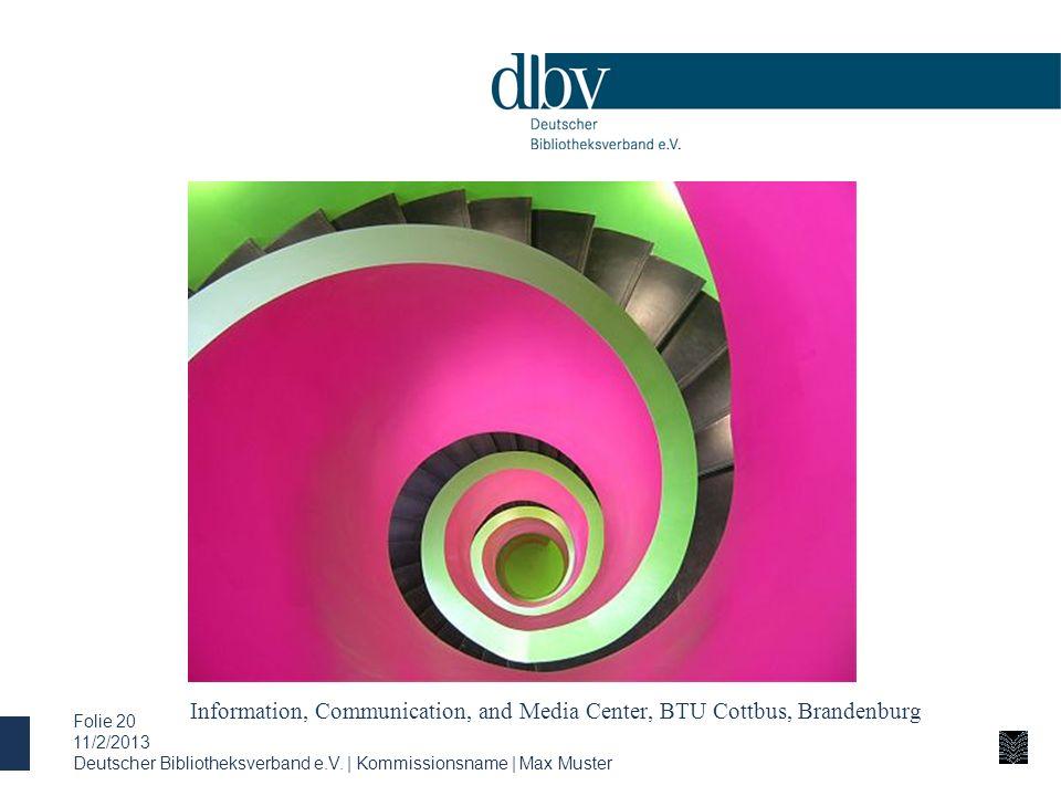 Information, Communication, and Media Center, BTU Cottbus, Brandenburg