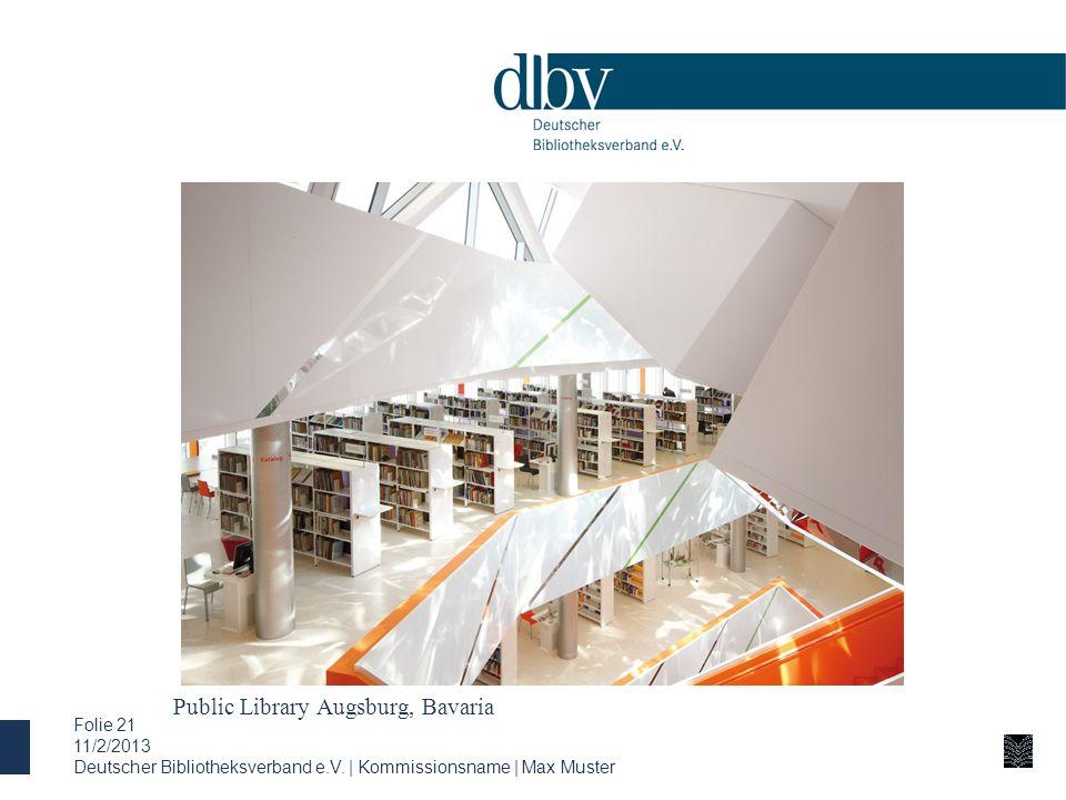 Public Library Augsburg, Bavaria