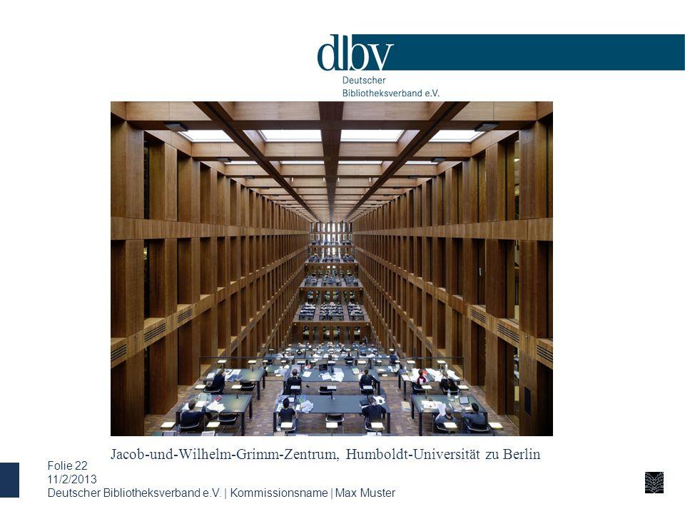 Jacob-und-Wilhelm-Grimm-Zentrum, Humboldt-Universität zu Berlin