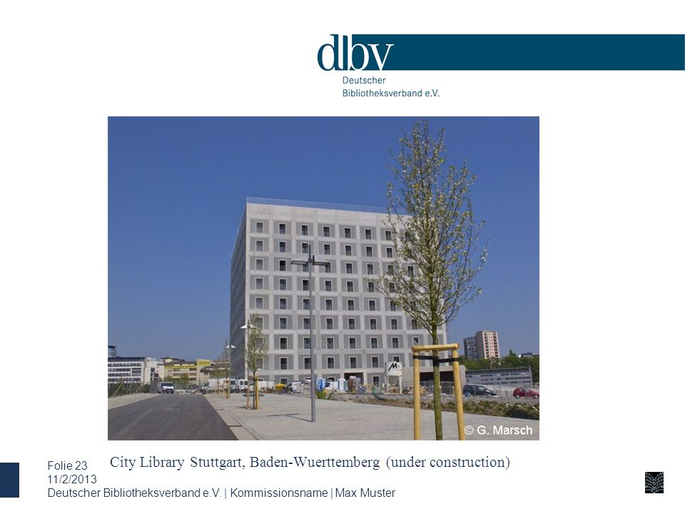 City Library Stuttgart, Baden-Wuerttemberg (under construction)
