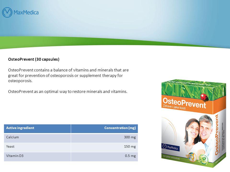OsteoPrevent (30 capsules)