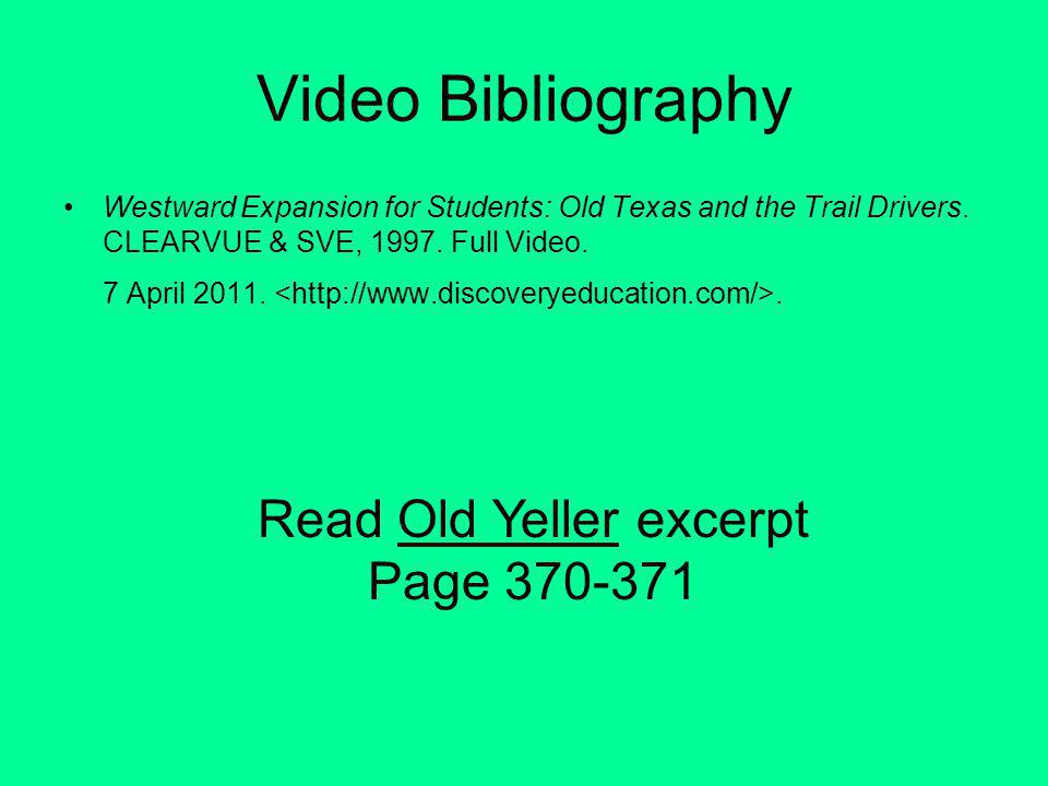 Read Old Yeller excerpt