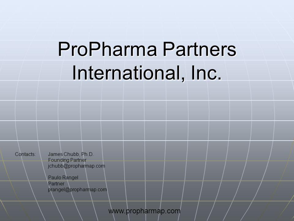 ProPharma Partners International, Inc.