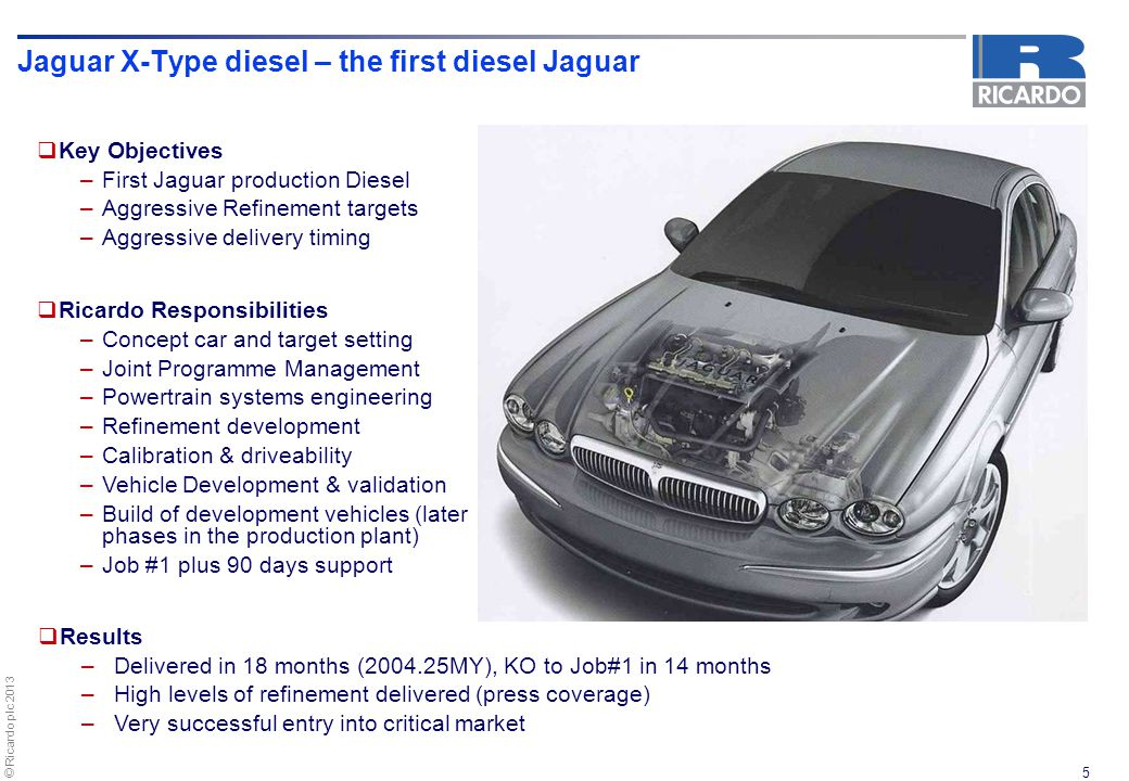 Jaguar X-Type diesel – the first diesel Jaguar