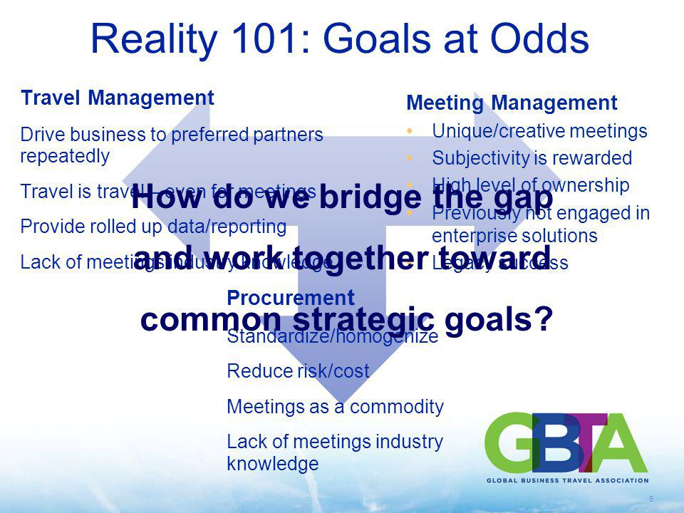 and work together toward common strategic goals