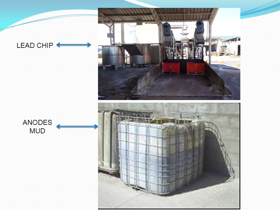LEAD CHIP ANODES MUD