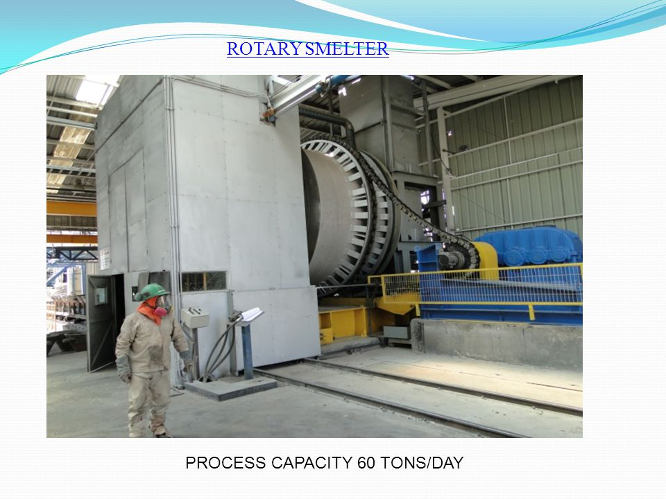 PROCESS CAPACITY 60 TONS/DAY