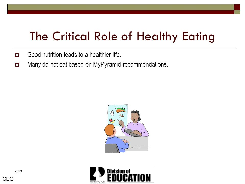 The Critical Role of Healthy Eating