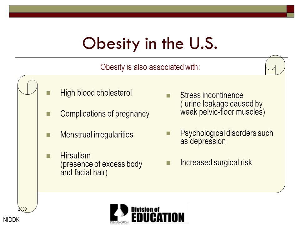 Obesity is also associated with: