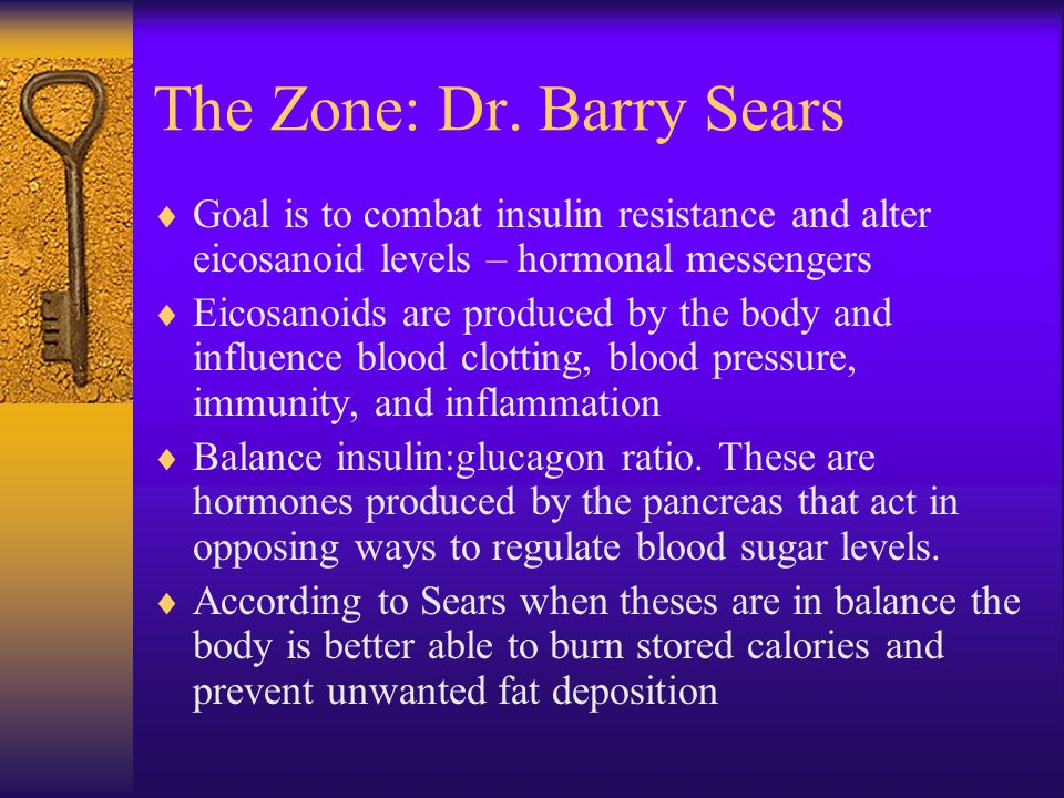 The Zone: Dr. Barry Sears