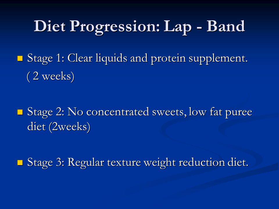 Diet Progression: Lap - Band