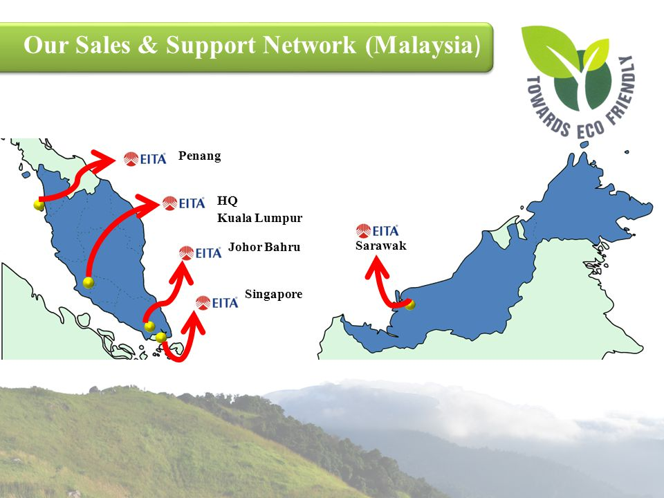 Our Sales & Support Network (Malaysia)