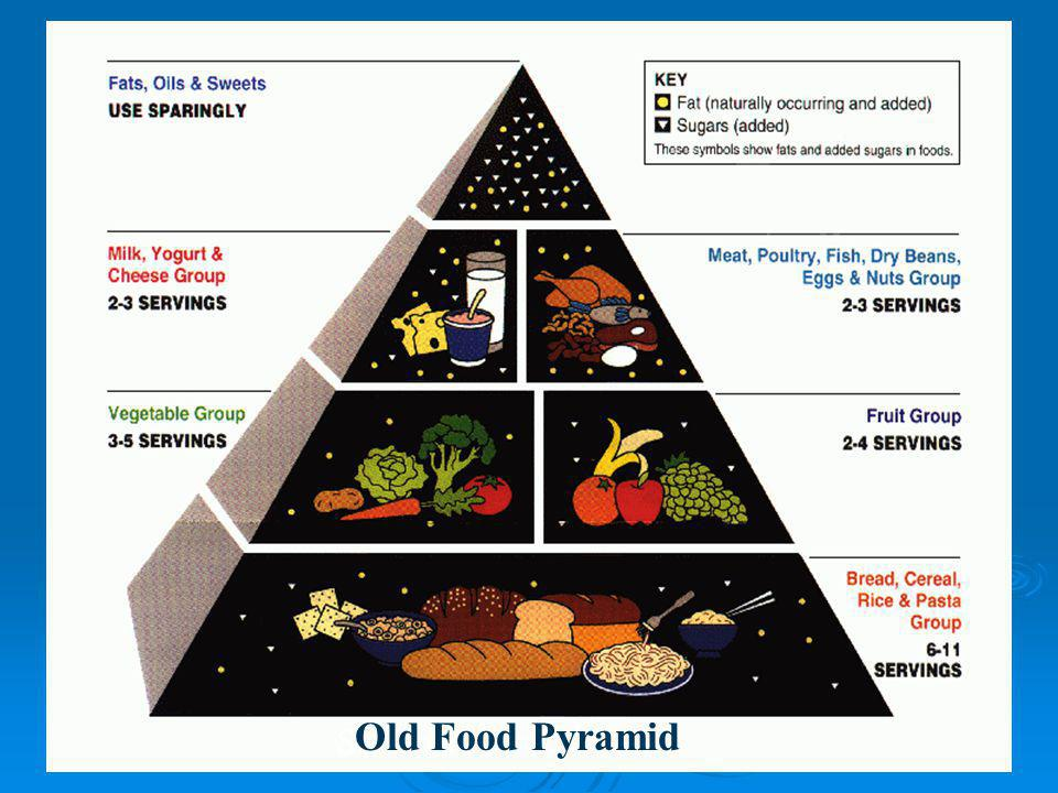 Old Food Pyramid See board for updates!
