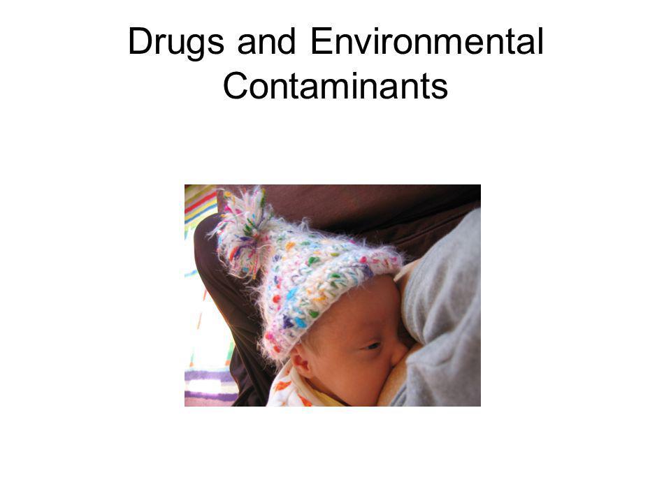 Drugs and Environmental Contaminants