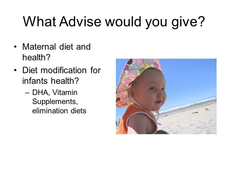 What Advise would you give