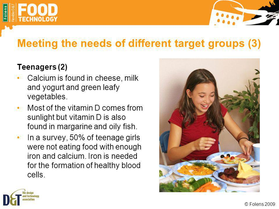 Meeting the needs of different target groups (3)