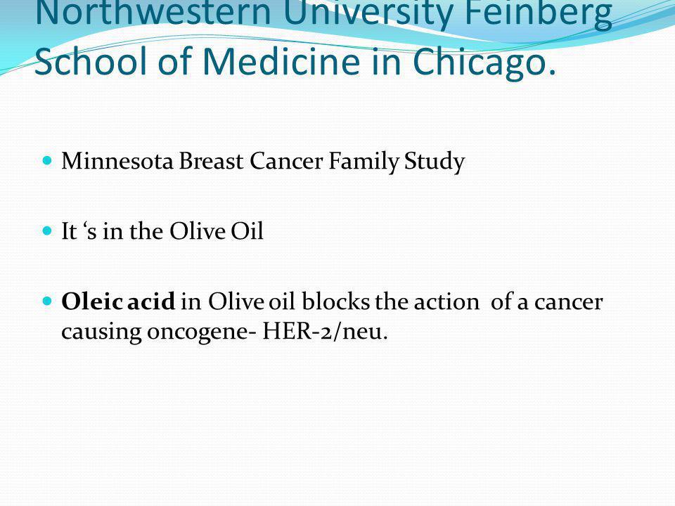 Northwestern University Feinberg School of Medicine in Chicago.