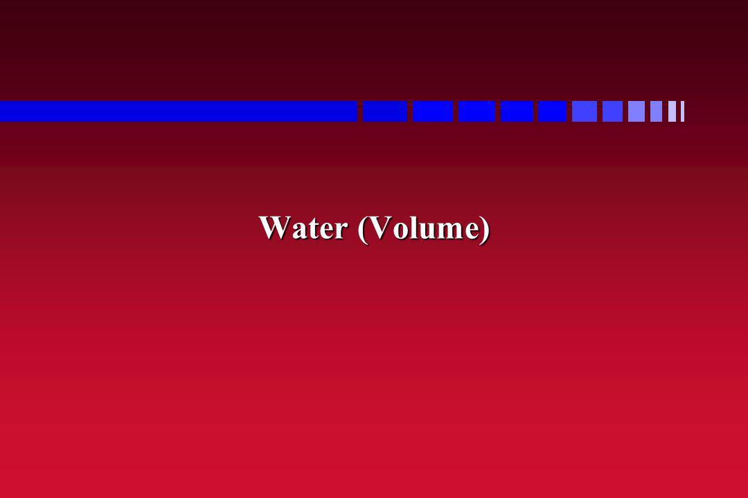 Water (Volume)