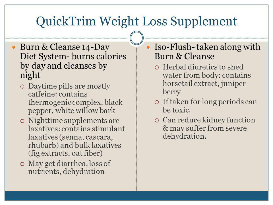 QuickTrim Weight Loss Supplement
