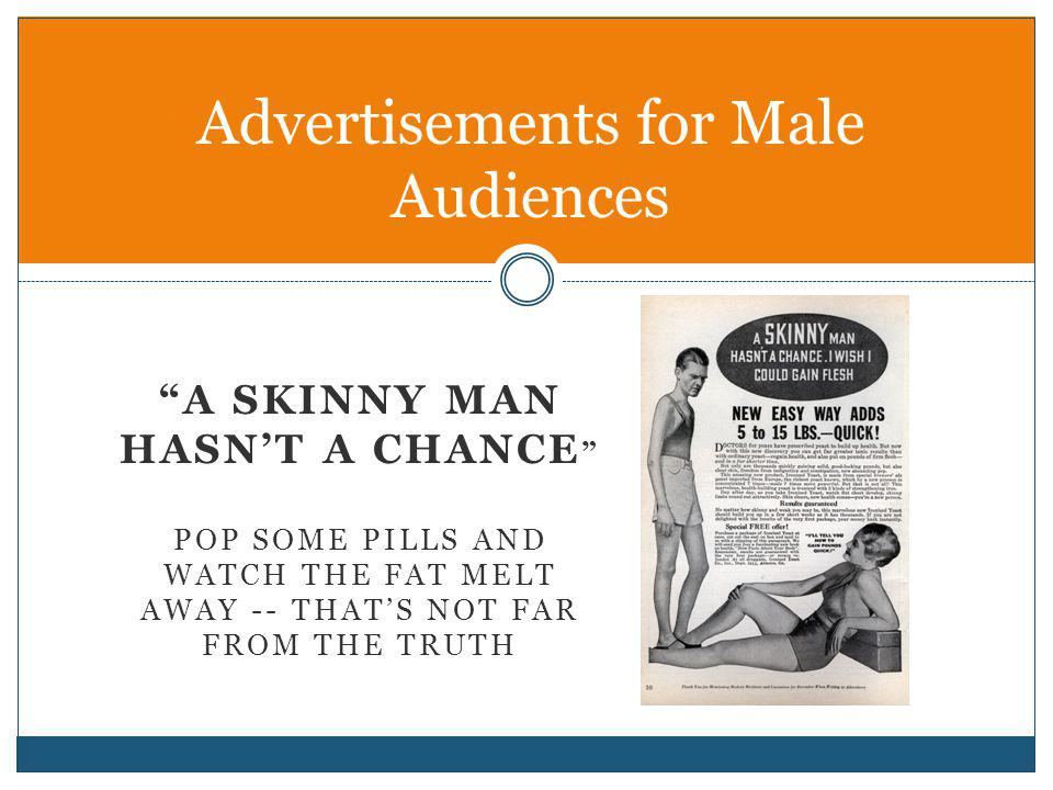 Advertisements for Male Audiences