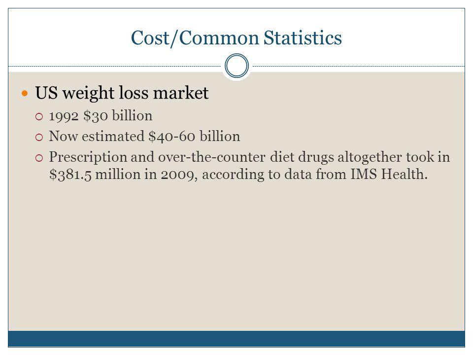 Cost/Common Statistics