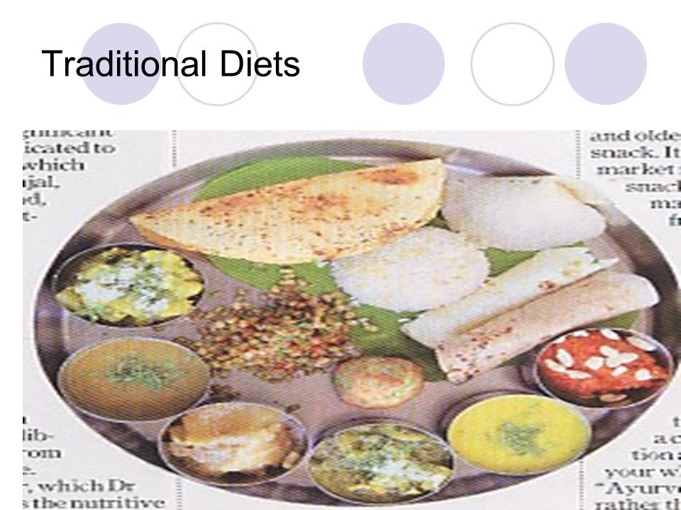 Traditional Diets
