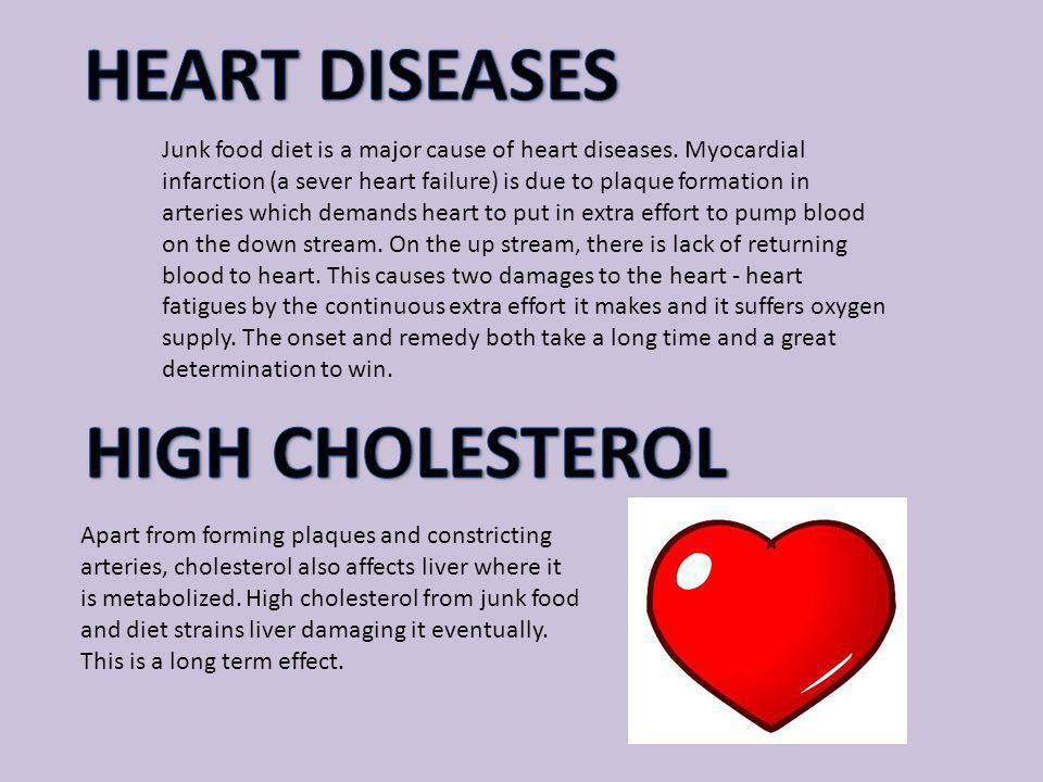 HEART DISEASES HIGH CHOLESTEROL