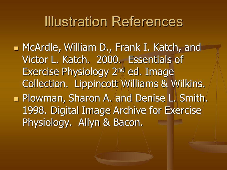 Illustration References