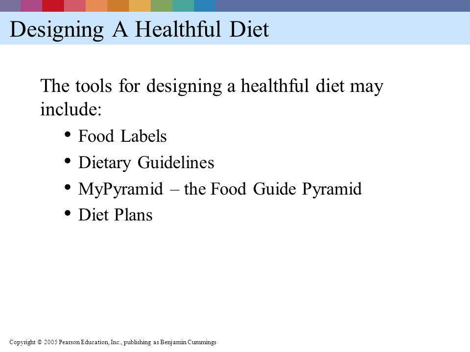 Designing A Healthful Diet