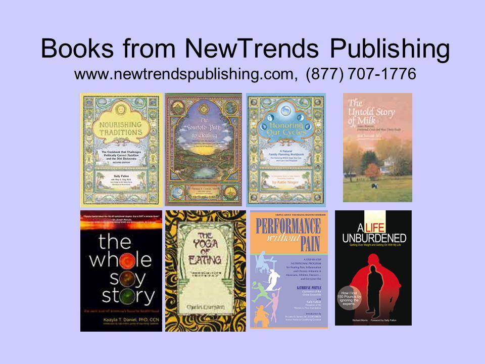 Books from NewTrends Publishing www. newtrendspublishing