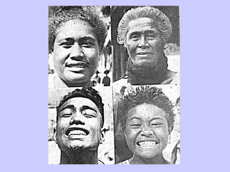 Primitive South Pacific Women