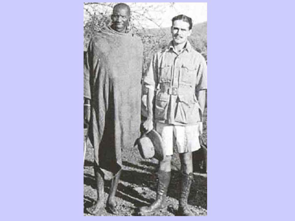 Masai This is a typical Masai warrior.