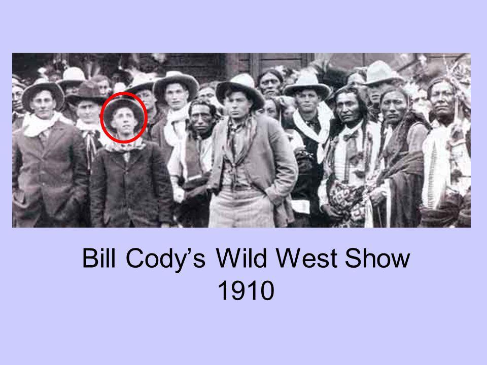 Bill Cody's Wild West Show 1910