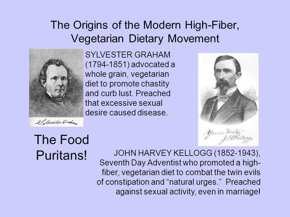 The Origins of the Modern High-Fiber, Vegetarian Dietary Movement