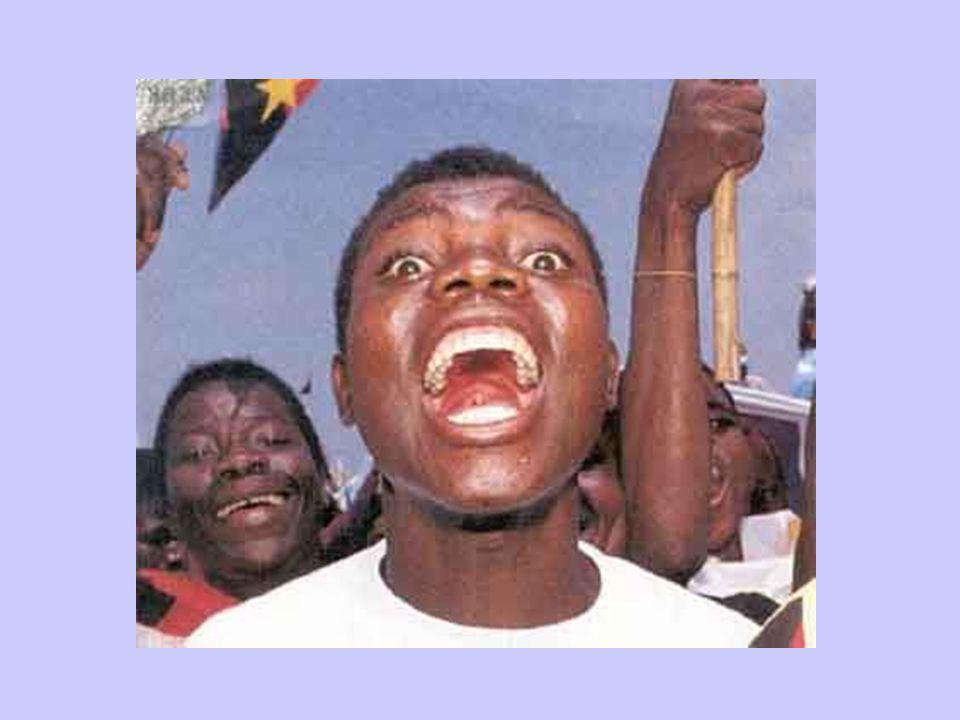 African Protestors